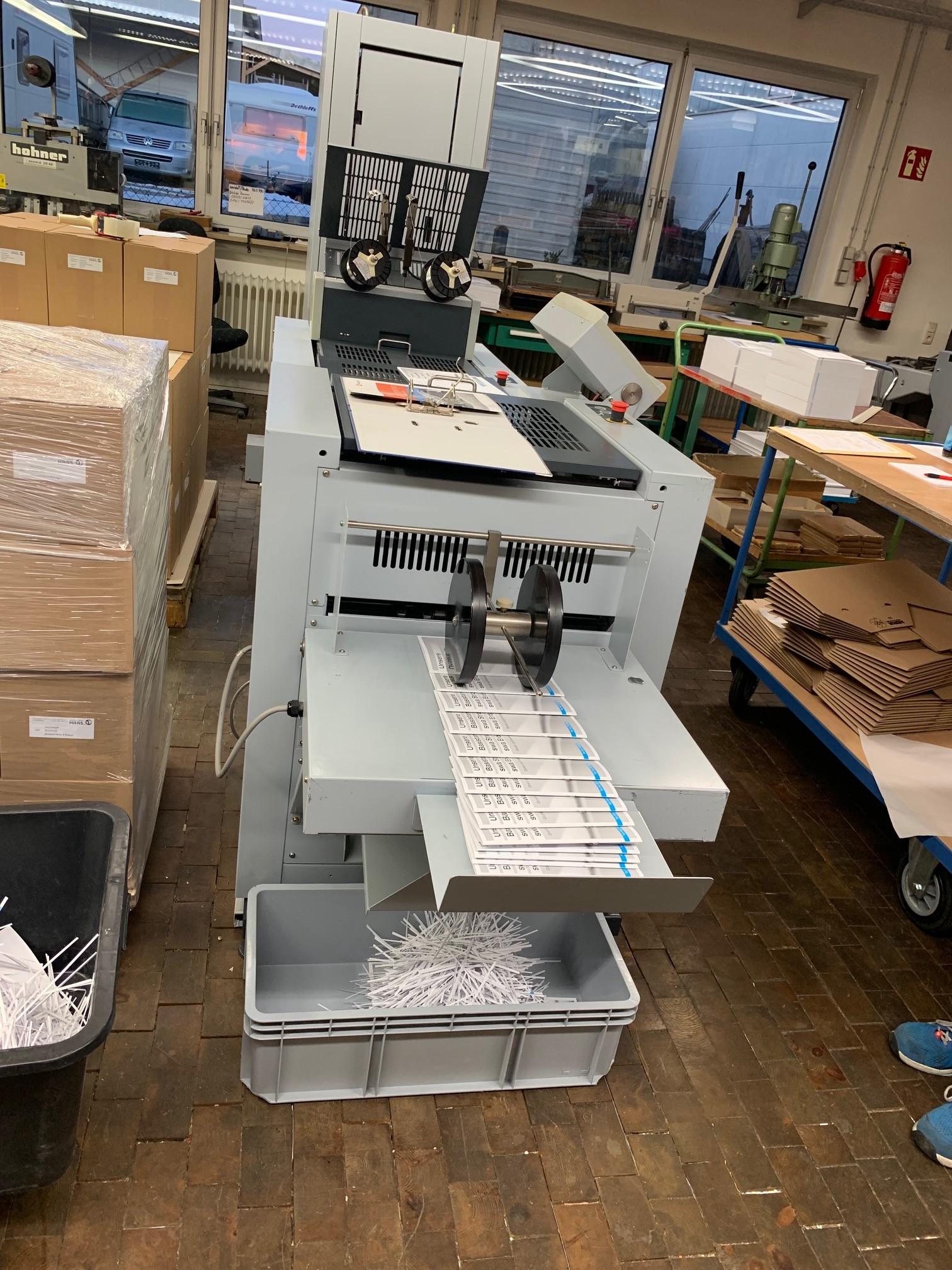 Broschürenverarbeitung inhouse